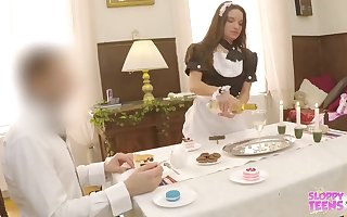 Anita Bellini is a whorey maid who luvs to get a romp fucktoy up her culo