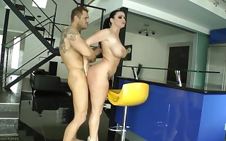 sophie dee in gym smashed by nacho vidal